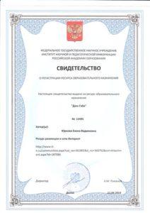 svidetelstvo o registratsii resursa_dom gabi